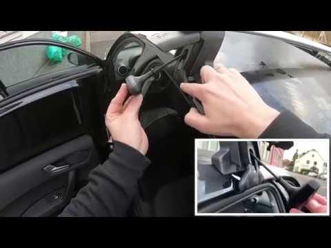 Audi Grundträger Montage Anleitung für Audi A1 Sportback 8X4071126 ohne Dachreling Einbauanleitung
