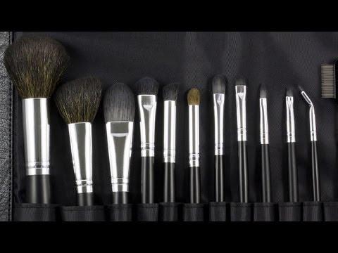 Bộ cọ trang điểm Coastal Scent 12 cây Makeup Brush Set