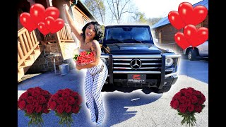 Surprising De'arra With The BEST Valentine's Day GIFT *EMOTIONAL*