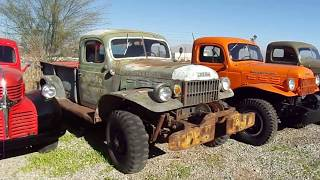 Old Dodge 4x4 Trucks For Sale, Power Wagons