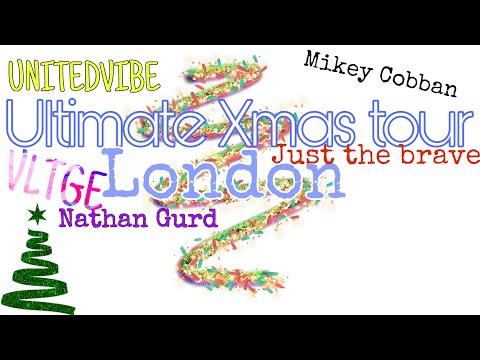 Vlogmas/Ultimate Xmas tour London FT the snowflakes