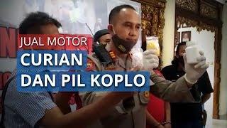 Pria di Semarang Ditangkap setelah Jual Motor Curian hingga Pil Koplo