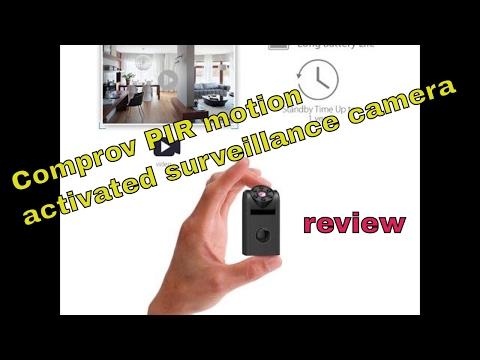 PIR Comprov surveillance motion activated spy camera review