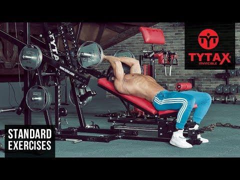 TYTAX® M1 | EZ-Bar Incline Triceps Extension