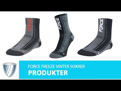 Force Freeze vinter sokker sort video