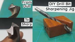 How To Sharpen Drill Bits - Drill Bit Sharpening Jig