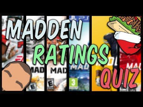 Madden Player Ratings Quiz w/ Beardmohbox!