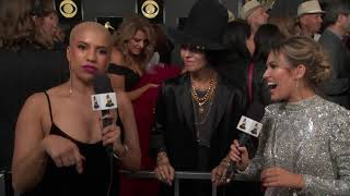 Linda Perry On The Red Carpet | 2019 GRAMMYs