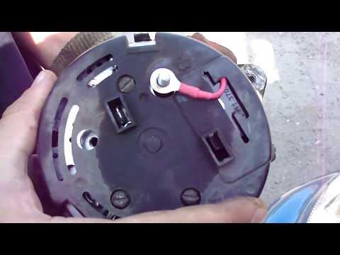 демонтаж и установка генератора сенс