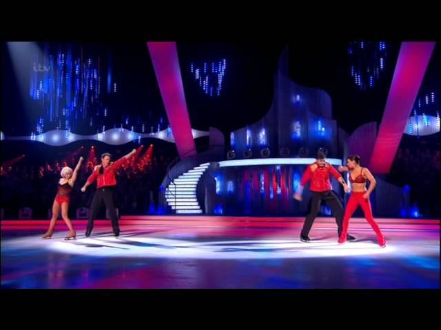 Dancing On Ice 2014 R4 Duel - Sam VS Kyran  #DOI
