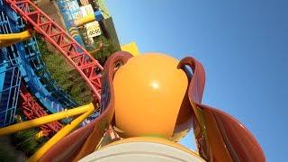 NEW Slinky Dog Dash (4K On-Ride) Toy Story Land At Disneys Hollywood Studios - Walt Disney World