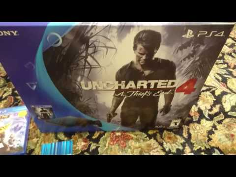 PS4 Slim Unboxing Uncharted 4 Bundle Black Friday (Walmart)