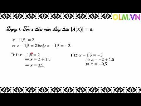 Chuyên đề Toán 7_Giá trị tuyệt đối của số hữu tỉ