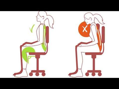 Safety Tips – Desk Ergonomics
