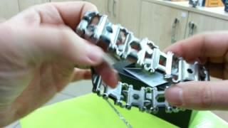 Leatherman Tread LT Stainless Metric (832431) - відео 1