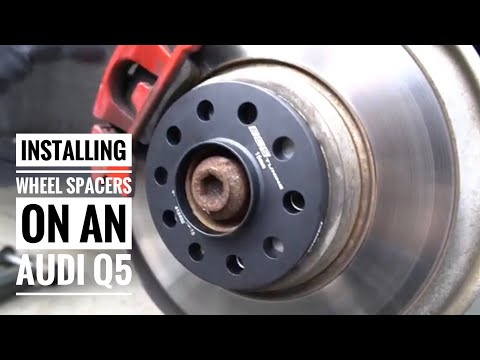 Installing Wheel Spacers on an Audi Q5