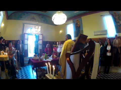 Video από τη Λειτουργία στον Αρχάγγελο, στα Μαντουκάτα Ληξουρίου