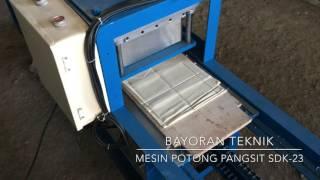 Mesin Potong Kulit Pangsit SDK-23 Bayoran Teknik