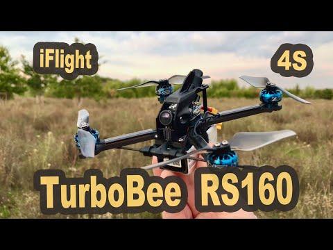 iFlight TurboBee 160RS 4 inch FPV Racer mit viel Speed