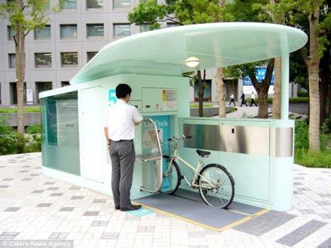 Monster Machines: Japan's Quake-Proof Underground Storage For Bikes