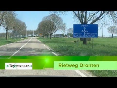 Gemeente gaat Rietweg niet aanpassen als verbinding naar vliegveld Lelystad