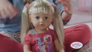 Старшая Сестренка Baby Born Interactive Беби Борн лялька Бебі Борн от компании baby born - видео 1