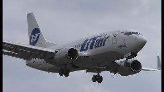 UTair Aviation Boeing 737-524(WL) VQ-BJO UT705 Landing Berlin Tegel