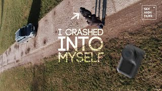 FLYING THE OSMO ACTION | I CRASHED INTO MYSELF WITH FPV + OSMO ACTION