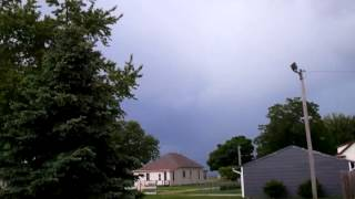 Storm coming in. Baxter Iowa