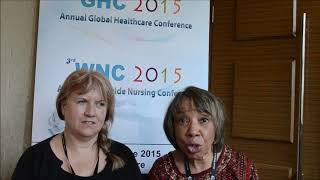 Dr. Quannetta Edwards & Prof. Ruth Trudgeon at WNC Conference 2015 by GSTF