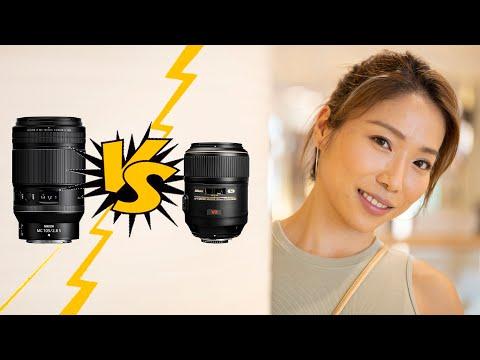 Nikon 105mm Macro lenses - Z vs F Mount