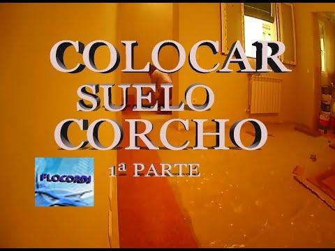 COLOCAR SUELO DE CORCHO 1ª parte