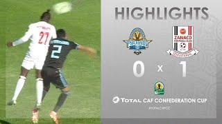 CC CAF : Pyramids FC 0-1 Zanaco FC | HIGHLIGHTS