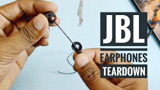 Jbl earphones teardown [ why one earpiece stops working ?]