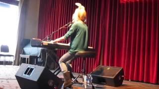 Charlotte Martin - Cardboard Ladders (Soundcheck) - Philadelphia - 4/22/17