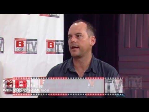 B Scene TV interview