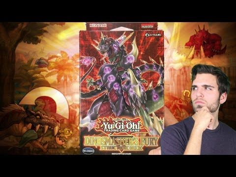 INSANE YuGiOh Dinosmasher's Fury Structure Deck Opening and Review! | ITS OVER 9000!!