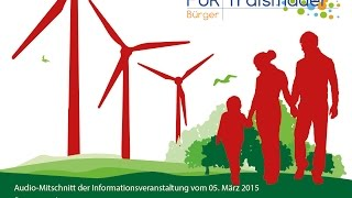 preview picture of video 'Teil 1: Windkraft-Informationsveranstaltung 5.3.15 Traismauer'
