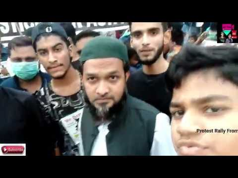 Junior Akber Uddin Speech    Protest  Rally From Moghalpura To  Charminer Zi4 Frnds Team..