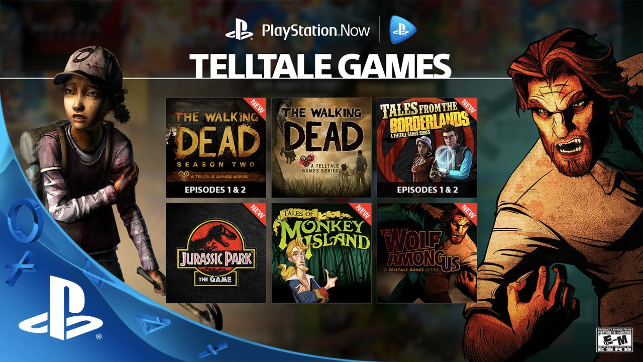 10 Telltale Games Join PS Now Subscription This Month