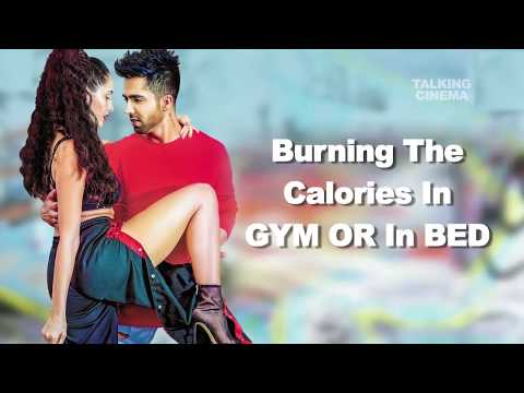 """Burning The Calories In Bed Is Best."" Hardy Sandhu"