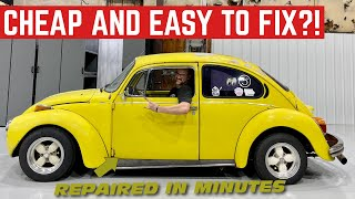 Is The Volkswagen BEETLE The SIMPLEST Car To Fix EVER?