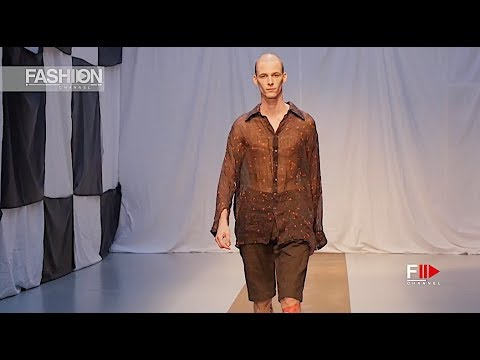 GEOFFREY B. SMALL 2019 Menswear Paris - Fashion Channel