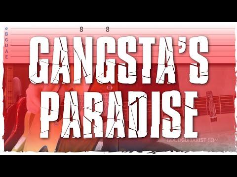 """Gangsta's Paradise"" Guitar Tutorial - Easy Chord Melody | Coolio"
