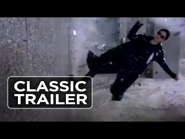 THE MATRIX (THURSDAY AUGUST 13 - DRIVE IN) Trailer