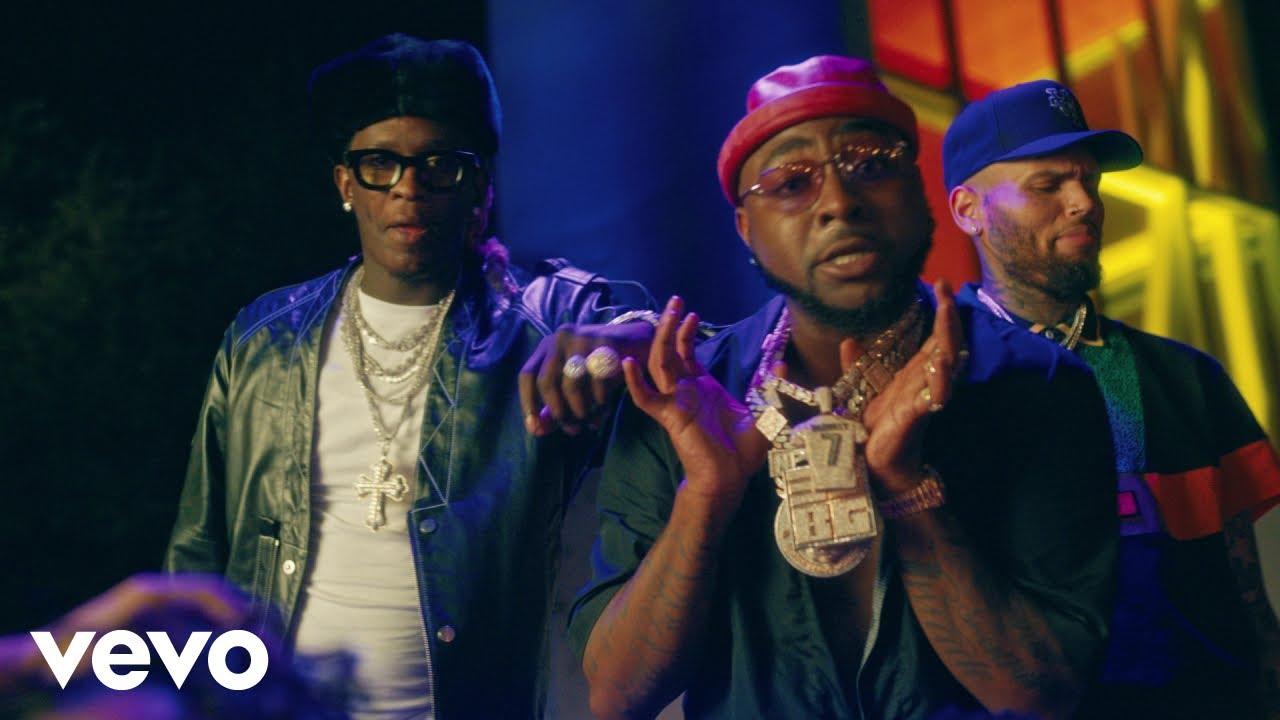 Davido ft. Chris Brown, Young Thug — Shopping Spree