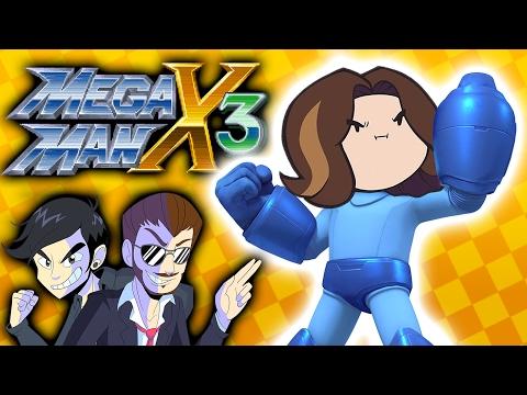 MegaMan X3 with Egoraptor of Game Grumps! (NateWantsToBattle and Dookieshed)