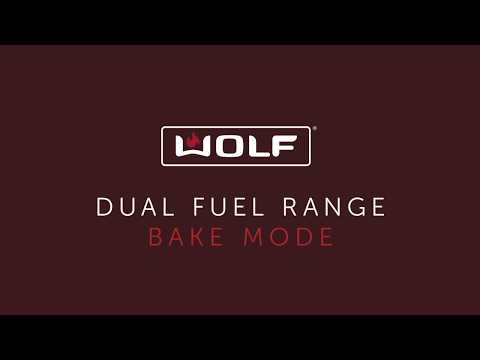 Wolf Dual Fuel Range - Bake Mode