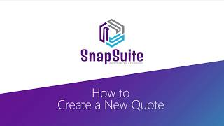 SnapSuite video