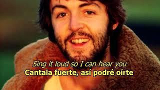 I will - The Beatles (LYRICS/LETRA) [Original]